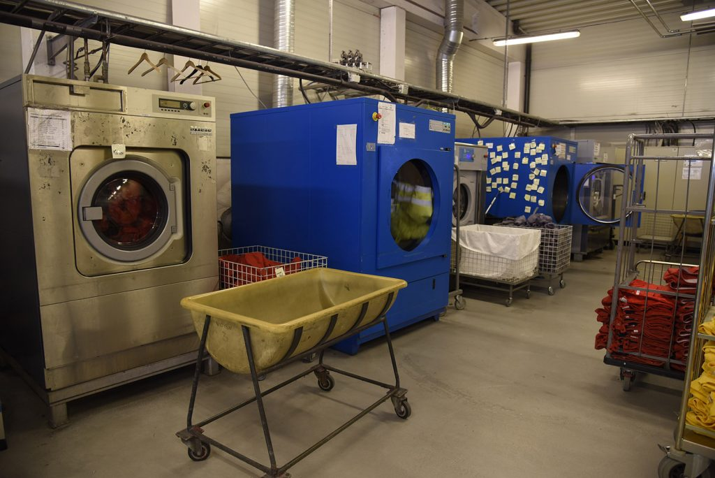 Trollheim Vaskeri - maskiner