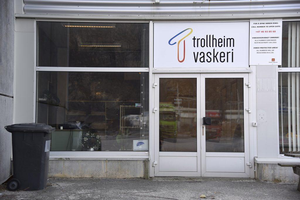 Trollheim vaskeri inngang