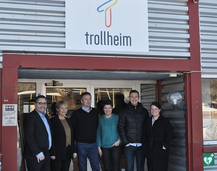 NHO Arbeid & Inkludering besøkte Trollheim AS