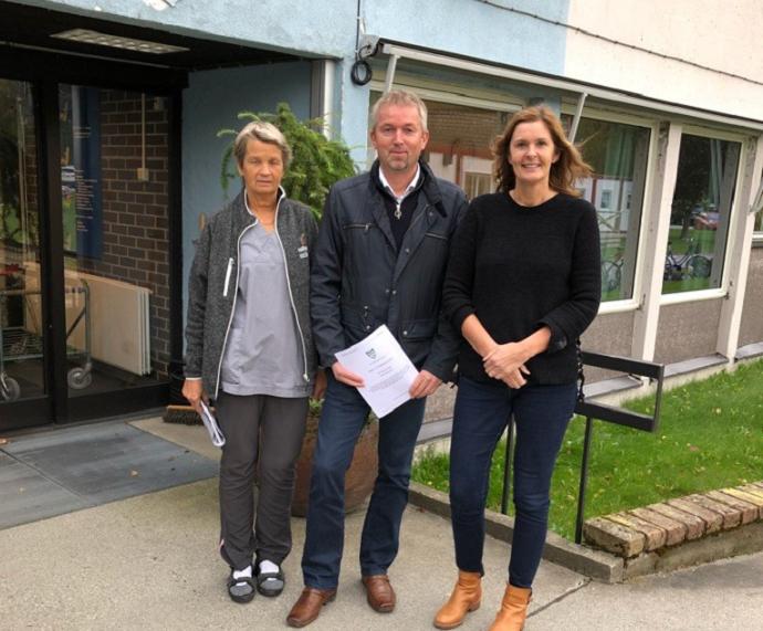 Trollheim AS signerte avtale med Sunndal Kommune