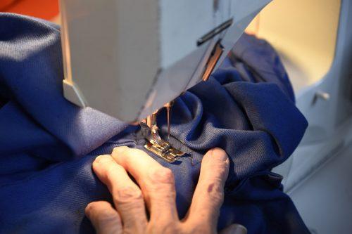 Trollheim Vaskeri, reparasjon av klær